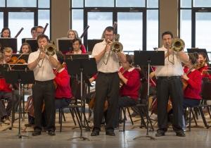 BPO trombones at Interlochen